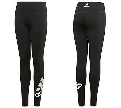 Girls ADIDAS Leggings Believe This Branded black ages 9 - 10 kids NEW LAST FEW