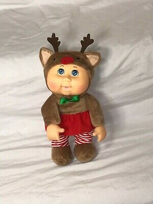 "9/"" Holiday Helpers Collection Cocoa Reindeer Cabbage Patch Kids Cuties Doll"