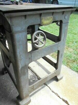 RARE Wallace Wilkerson Table Saw  w/Origional Extension+ 2 Fences