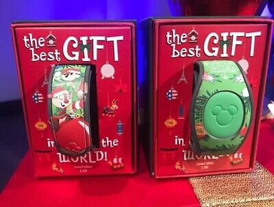 Disney Parks Epcot 2019 Festival Of The Holidays Chip & Dale LE Magic Band 11/29