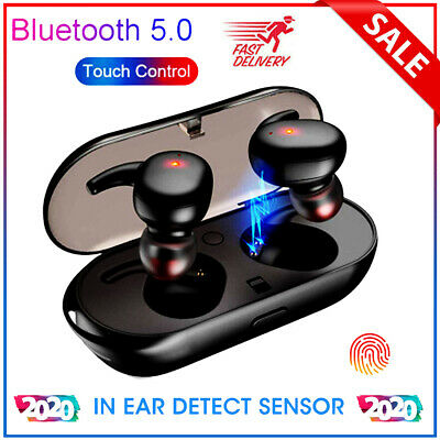 Bluetooth 5.0 Wireless Headphones TWS4 Earphones In-Ear Pods for IOS Android NEW