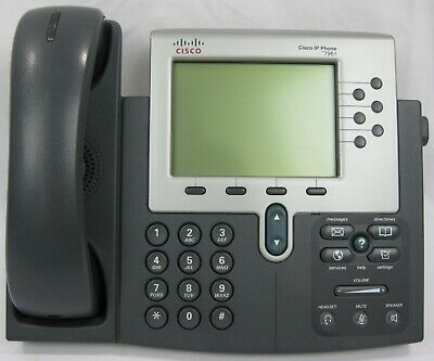 MULTIPLE AVAILABLE LOT of 2 CISCO 7961 Unified IP Phone CP-7961G VoIP Business