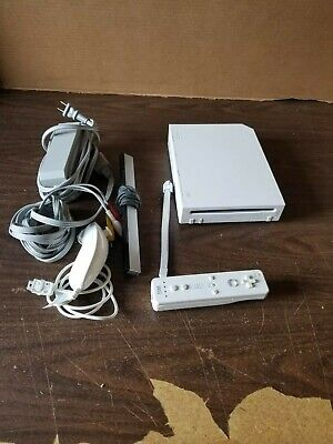 Nintendo Wii White Console Video Game System Complete Setup Ready to Play