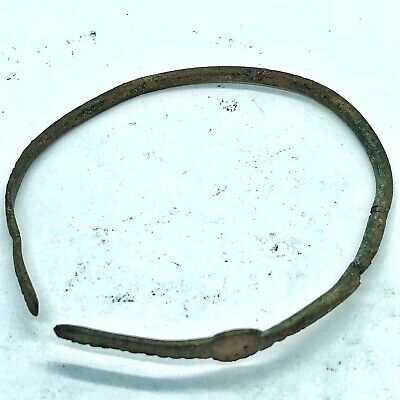 Ancient Viking Bracelet Artifact Authentic Antiquity Old European Norse Rare 3