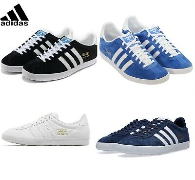 Adidas New Man's Gazelle Original Suede Leather Trainers Size 7 8 9 10 11