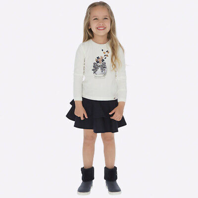 New Mayoral Girls t shirt and ruffle skirt set, Age 2 years (4950)