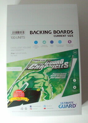 Ultimate Guard Backing Boards Verstärkung Comics Current Size 171x266mm Einlage
