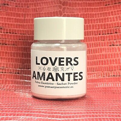 〽️Polvo Esoterico Amantes  〽️Sachet Powder Lovers 〽️ Ritual Spell Witchcraft
