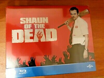 Shaun of The Dead (UK Limited Edition Steelbook) Blu-ray, New & Sealed