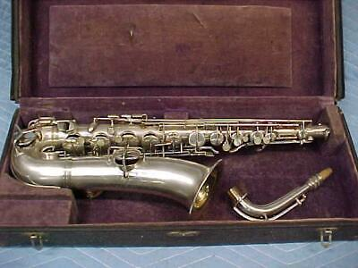 Antique  CONN C Melody Saxophone, Professionally Restored, Great! #2