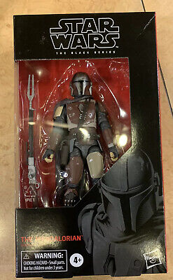 "Disney Hasbro Star Wars Black Series 94 #94 The Mandalorian 6"" Figure IN HAND"