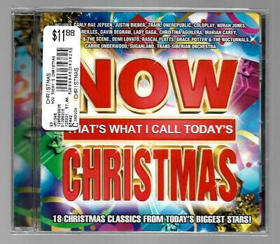 Now That's What I Call Today's Christmas by Various Artists(CD)~BRAND NEW&SEALED