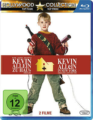 Home Alone 1 / Home Alone 2: Lost in New York | New | Blu-ray Region free