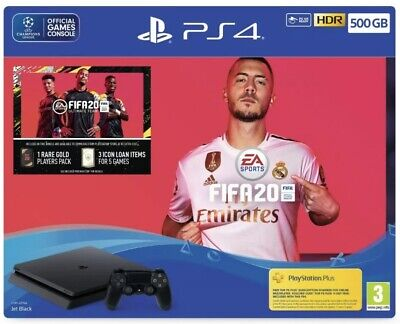 *Lancs COLLECTION ONLY* Sony Playstation 4 PS4 500GB Fifa 20 Console Bundle