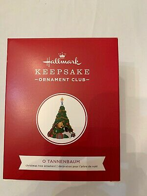 2019 Hallmark Keepsake KOC Ornament O Tannenbaum Puppy Love Mischievous Kittens