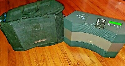 Bose Automatic Wave Cd Music System 11 Titanium Sliver,W/Remote/Factory Bag