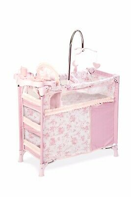 Changing Travel Station cot + Accessories doll Toys Changing Station 93cm Heigh