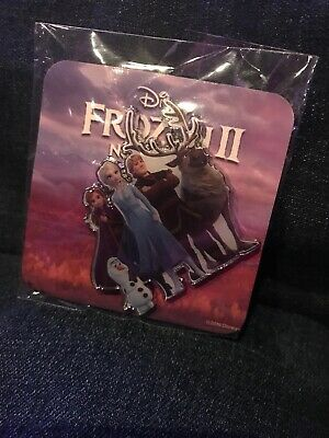 Disney Frozen 2 Pin Movie Fan Event Exclusive AMC Anna Elsa Olaf Kristoff Sven