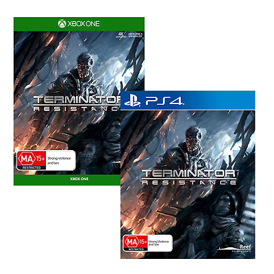 Terminator Resistance PS4 XBox One Man Vs Machines Shooter Game Playstation 4