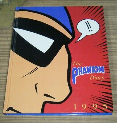 1995 Phantom Diary - Hardcover Book New & Unused