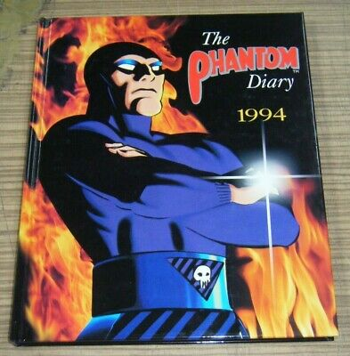 1994 Phantom Diary - Hardcover Book New & Unused