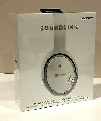 ✳️ BRAND NEW! ✳️ Bose SoundLink Around-Ear Wireless Headphones II 2 - WHITE NIB!