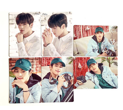 Stray Kids UNVEIL TOUR I am in japan mini photocard set Woojin 6 complete set