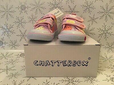 chatterbox girls shoes infant size 4 (uk seller)