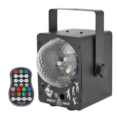 Laser Projector LED Stage Light Sound Activated Disco Lighting Ball Lamp #3YE