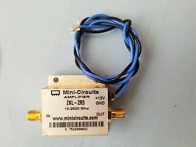 minicircuits RF amplifier ZKL-2R5 - tested