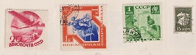 RUSSIA   Album page of  Mint/Used Stamps (i12)
