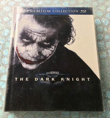 the Dark Knight ( 2 Blue Ray,  2 DVD - Premium Collection )