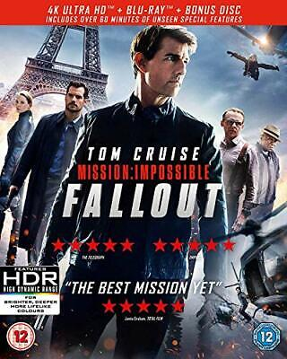 Mission: Impossible - Fallout (4KUHD + Blu-ray + Bonus Disc) [2018] [DVD]