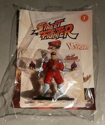 Figurine M.BISON STREET FIGHTER - Collection Altaya - Capcom - Neuf sous blister