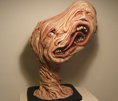 life size 1:1 scale THE THING SPLIT FACE HEAD alien replica prop star wars