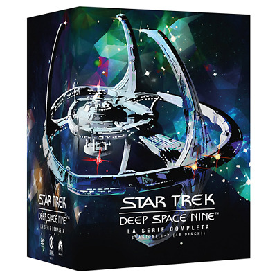 STV *** STAR TREK DEEP SPACE NINE: Stagioni 1-7 (48 Dvd) *** sigillato