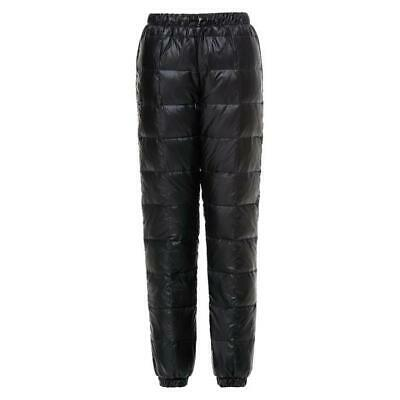 -30℃ Winter Outdoor Sports Down Pants Womens Puffer Trousers Windproof Coldproof