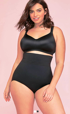 Lane Bryant Black Smoother Ultra High Waist Smoothing Brief Plus Size 26/28