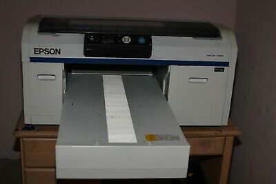 Epson F2000 SureColor Printer White Edition Direct to Garment DTG