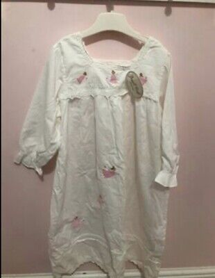 100/% Cotton Powell Craft Girls Maddy Nightdress 2-3 years Angel//Fairy 1-12 Years.
