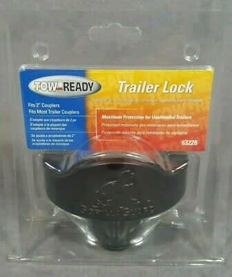 """Tow Ready 63228 'Gorilla Guard' Coupler Lock for 2"""" Couplers"""