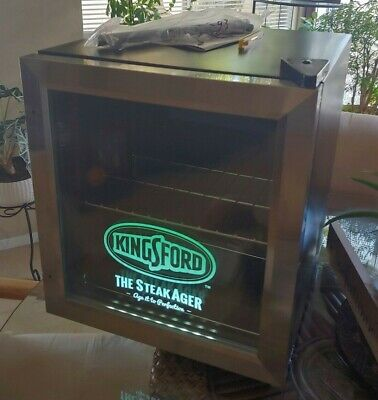 Tested Working Kingsford Steakager Dry Age Steak Fridge Series 30 New In Box