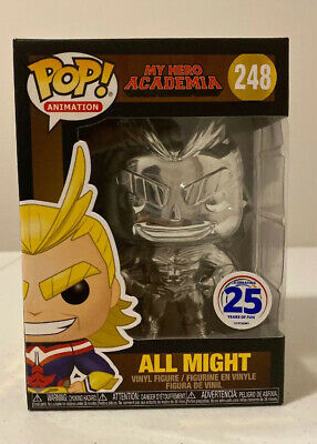 All Might Chrome Funko POP! My Hero Academia NYCC 2019 Funimation Exclusive #248