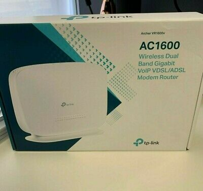 Archer VR1600v AC1600 Wireless Dual Band Gigabit Modem Router VDSL ADSL TP-Link