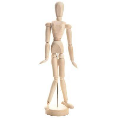Puppet Toy Sketch Model Painting and Drawing Aid Doll Wooden Model #H5