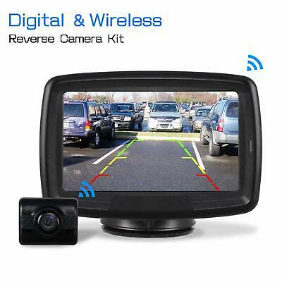 Wireless Digital Car Rear View System 4.3'' Monitor IP68 Parking Backup Camera