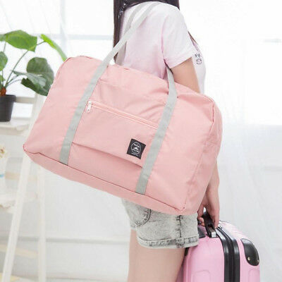 JP_ Foldable Large Duffel Bag Luggage Storage Waterproof Travel Pouch Tote Bag