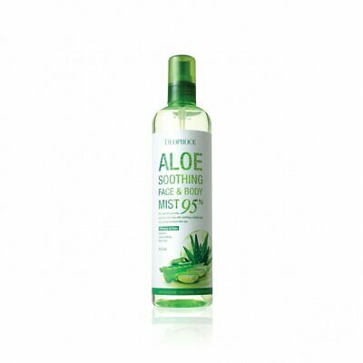 Deoproce 95% Aloe Soothing Face & Body Mist 410ml