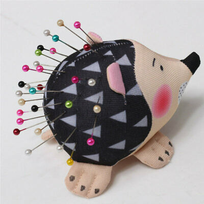 Hedgehog Shape Pin Cushion Needle Pincushions Holder Accessories Home Supplies