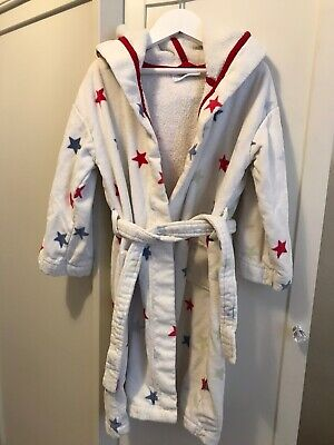 LITTLE WHITE COMPANY- Boys Dressing Gown - Good Condition - Age 5 to 6